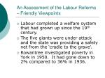 an assessment of the labour reforms friendly viewpoints