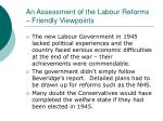 an assessment of the labour reforms friendly viewpoints29