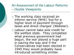 an assessment of the labour reforms hostile viewpoints27