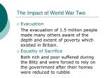 the impact of world war two