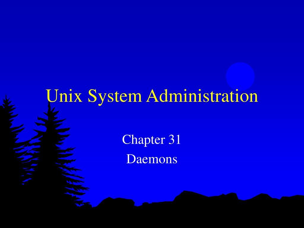 unix system administration l.