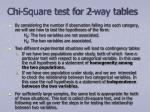 chi square test for 2 way tables4