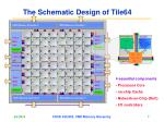 the schematic design of tile64