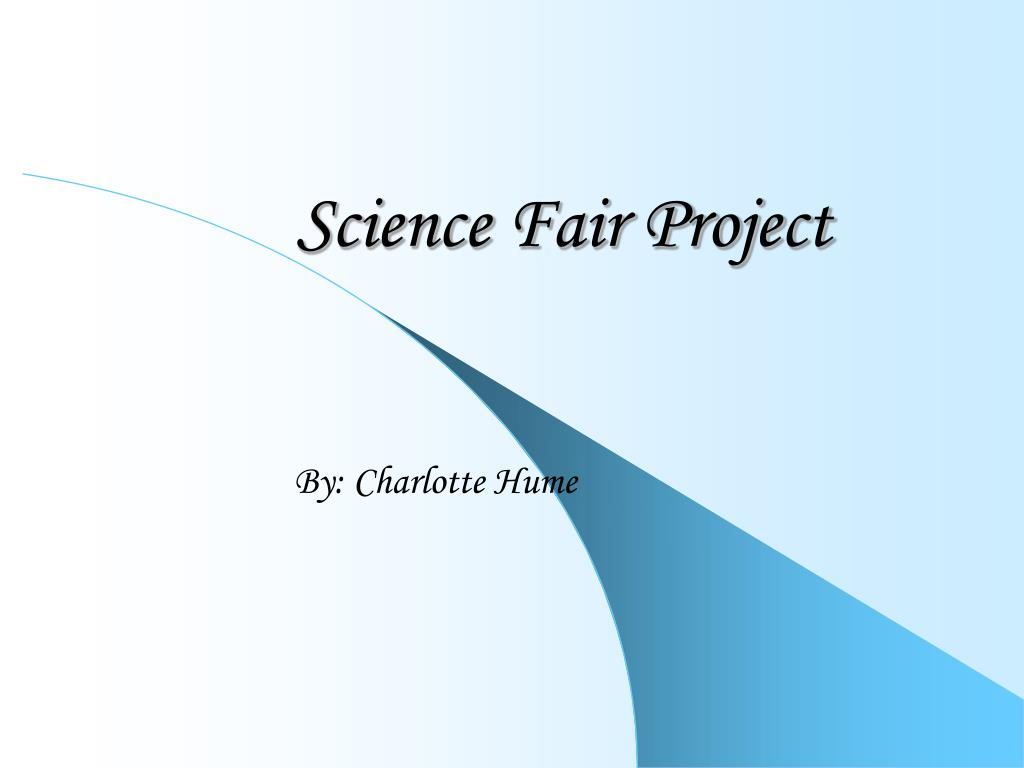 science fair project l.