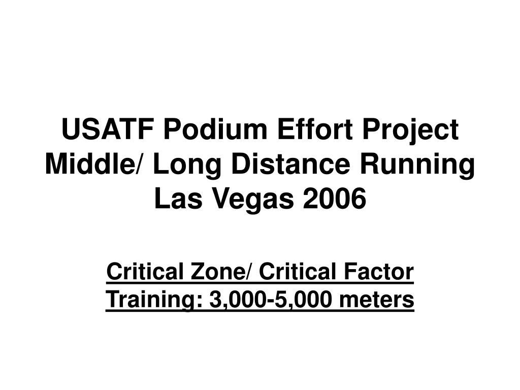usatf podium effort project middle long distance running las vegas 2006 l.
