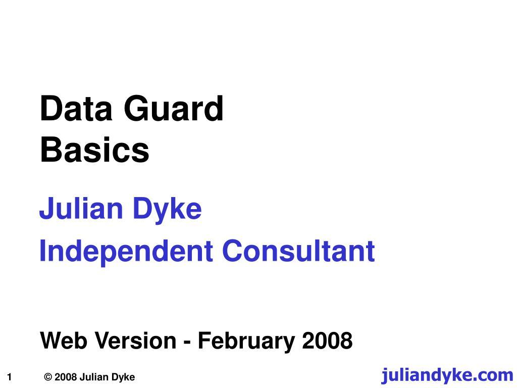 data guard basics l.