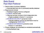 data guard fast start failover20