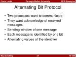 alternating bit protocol