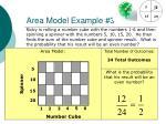 area model example 3