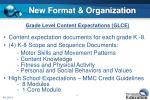 new format organization
