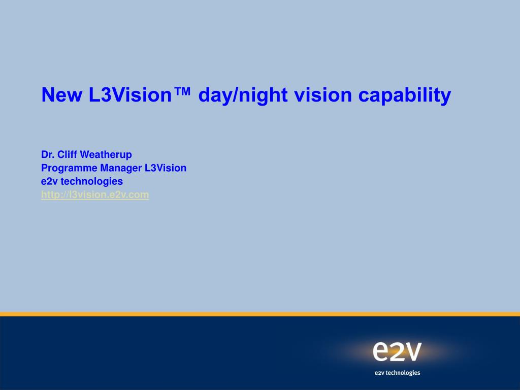 new l3vision day night vision capability l.