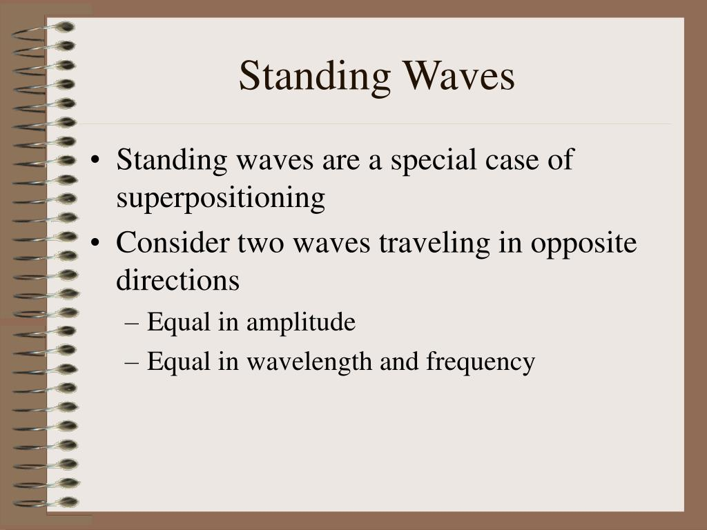 standing waves l.