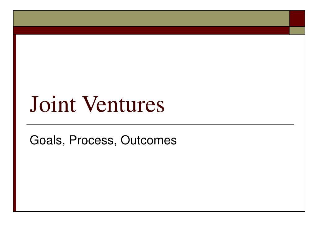 joint ventures l.