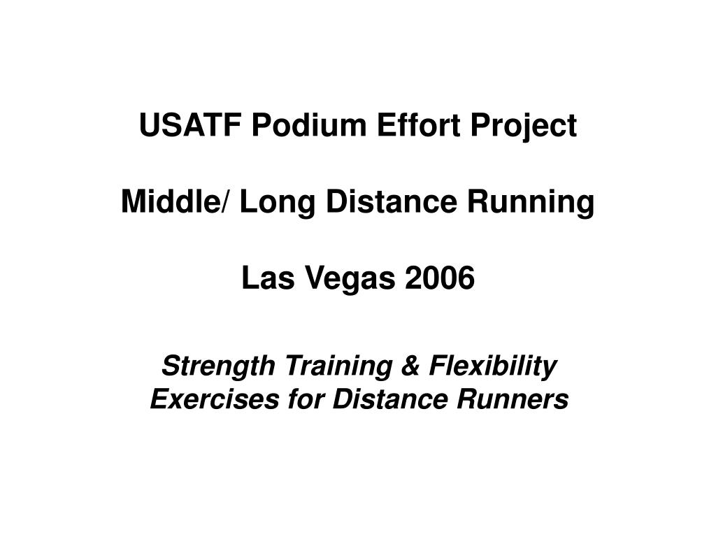usatf podium effort project middle long distance running las vegas 2006 l.