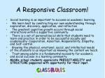 a responsive classroom