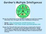 gardner s multiple intelligences