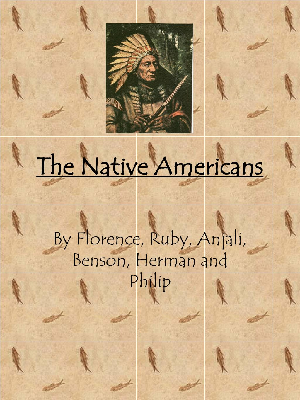 the native americans l.
