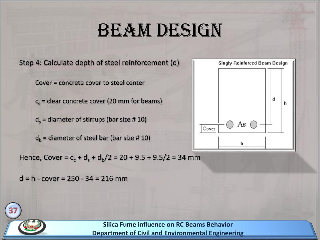 PPT - Silica Fume influence on RC Beams Behavior PowerPoint