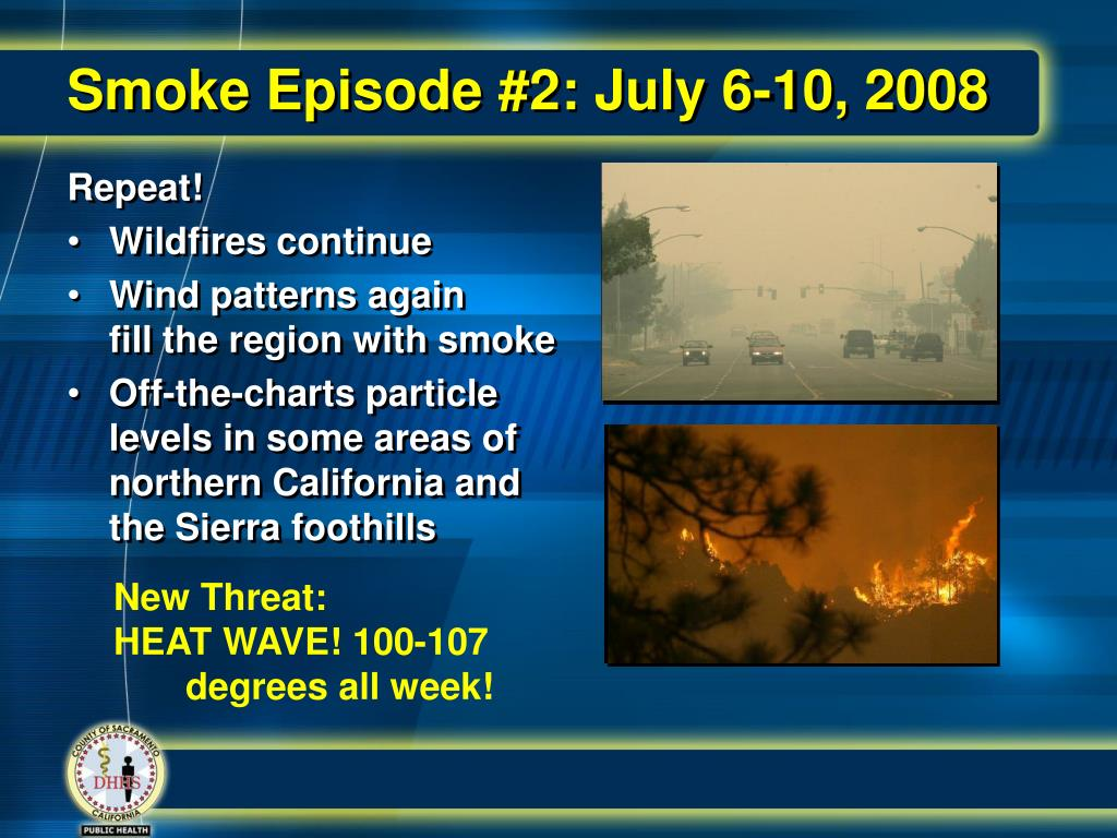 Smoke Episode #2: July 6-10, 2008