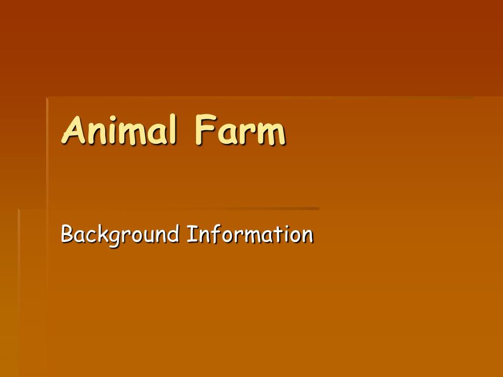 animal farm l.