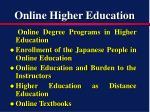 online higher education