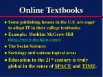 online textbooks