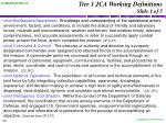 tier 1 jca working definitions slide 1 of 5