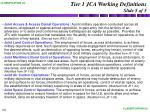 tier 1 jca working definitions slide 5 of 5