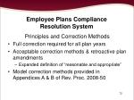 employee plans compliance resolution system72