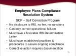 employee plans compliance resolution system73
