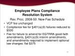 employee plans compliance resolution system77