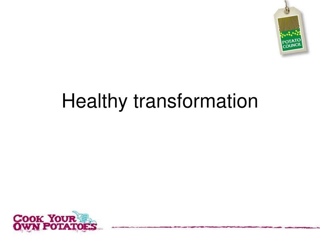 healthy transformation l.