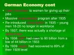 german economy cont60