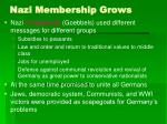 nazi membership grows34