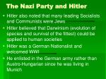 the nazi party and hitler26