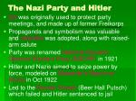 the nazi party and hitler28