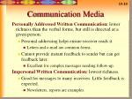 communication media10