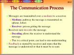 the communication process5