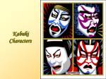 kabuki characters30