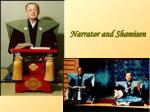 narrator and shamisen
