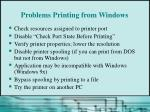 problems printing from windows45