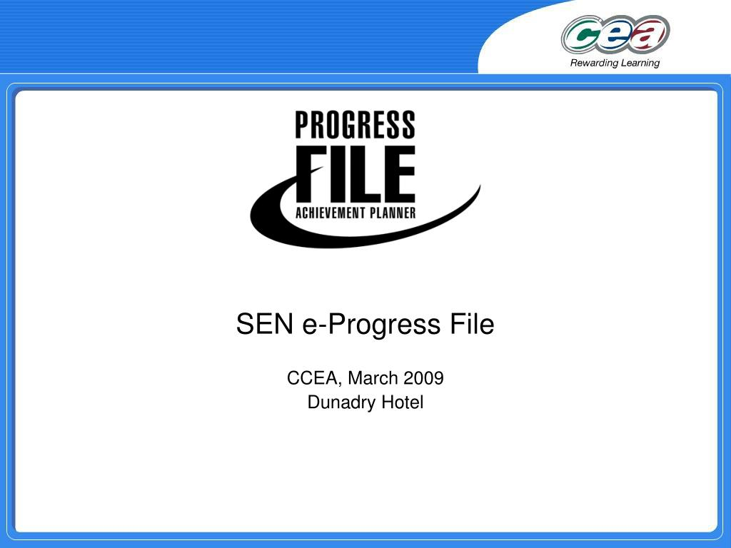 sen e progress file ccea march 2009 dunadry hotel l.