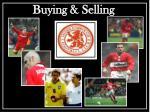 buying selling