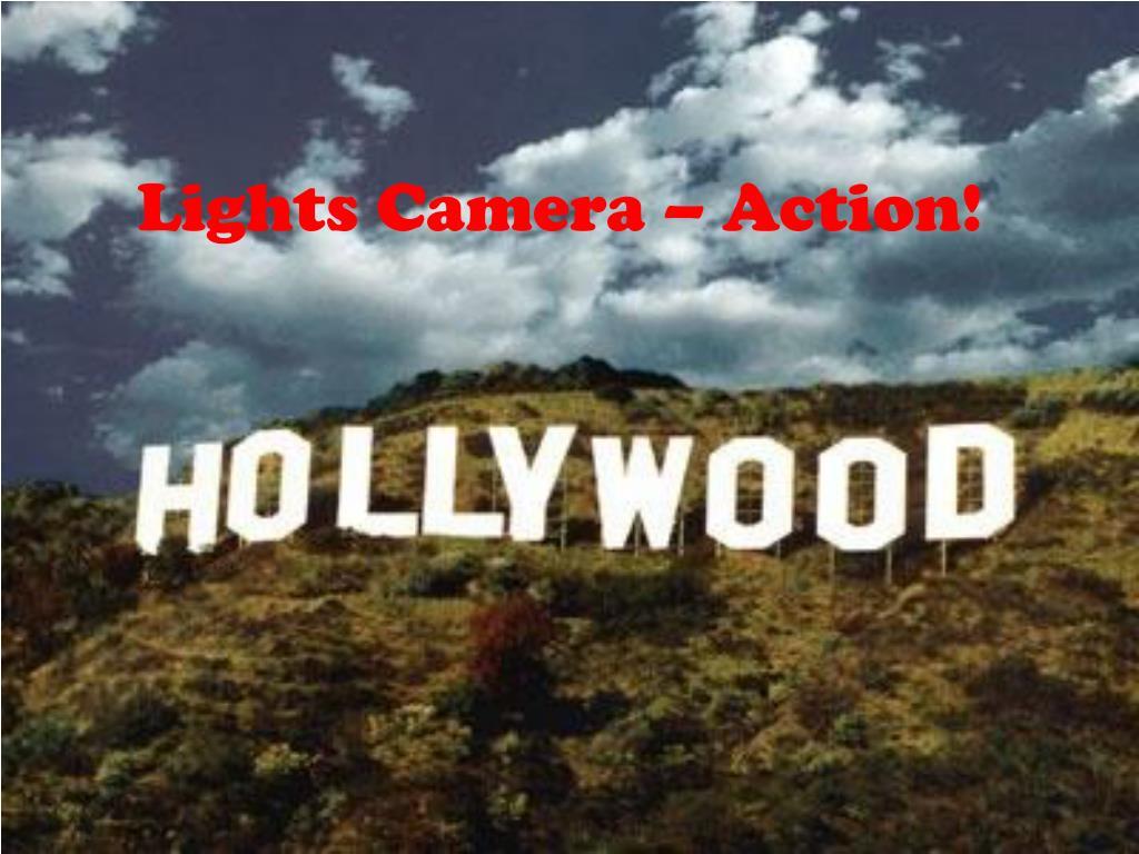 lights camera action l.
