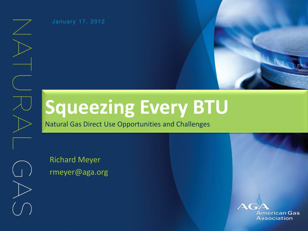 squeezing every btu natural gas direct use opportunities and challenges l.