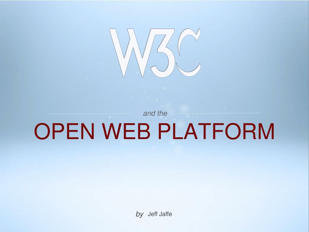 open web platform l.