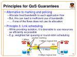 principles for qos guarantees36