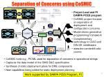 separation of concerns using cosmic