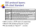 iso protocol layers oft cited standard