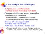 ilp concepts and challenges